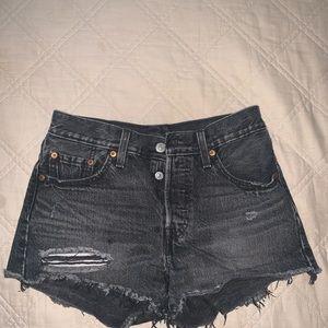 Levi's Shorts - Distressed Levi's